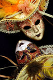 Vintage carnival masks Royalty Free Stock Photography