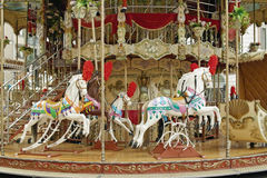Vintage carousel Royalty Free Stock Images