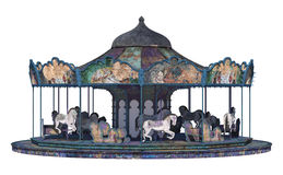 Vintage Carousel Royalty Free Stock Photos