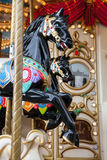 Vintage carousel or merry-go-round Stock Photography