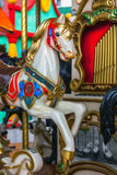 Vintage carousel or merry-go-round Royalty Free Stock Image