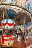 Vintage carousel or merry-go-round Royalty Free Stock Photos