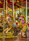 Vintage carousel or merry go round Royalty Free Stock Image