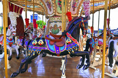 Vintage carousel. Stock Photo