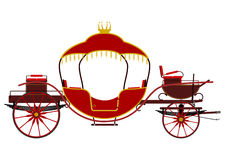 Vintage carriage Royalty Free Stock Photography