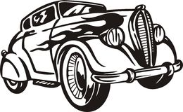 Vintage Cars. Stock Photos