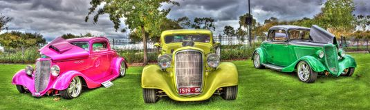 Vintage cars Stock Photo