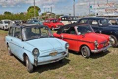 Vintage cars Autobianchi Bianchina Stock Photos