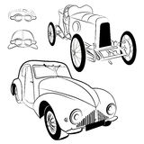 Vintage cars Royalty Free Stock Photos