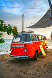 Vintage cars, bus Royalty Free Stock Photo