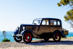 Vintage cars. Royalty Free Stock Image