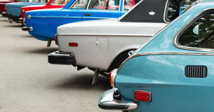 Vintage cars Royalty Free Stock Photo