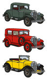 Vintage cars Stock Image