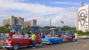 Vintage Cars in Havana Royalty Free Stock Images