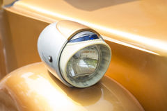 Vintage cars headlight Stock Photography