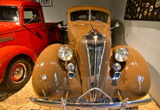 Vintage cars in the National Automobile Museum, Reno, Nevada Stock Image
