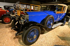 Vintage cars in the National Automobile Museum, Reno, Nevada Royalty Free Stock Images