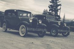 Vintage Cars Old Timers Royalty Free Stock Photos