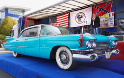 Vintage American Classic Car, Cadillac, 50-60´S Stock Images