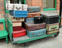 Vintage Cases. Stock Photo