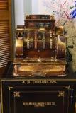 Vintage cash machine Royalty Free Stock Photography