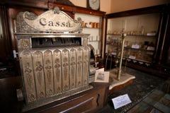 Vintage cash register Stock Images