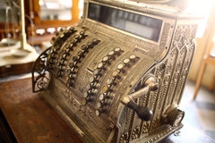 Vintage cash register Royalty Free Stock Image