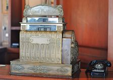 Vintage cash register Stock Photos