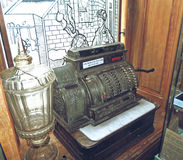 Vintage cash register Royalty Free Stock Photography