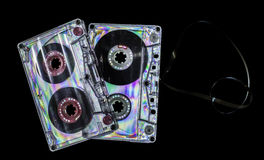 Vintage cassette tape royalty free stock photography