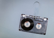 Vintage cassette tape Stock Photography