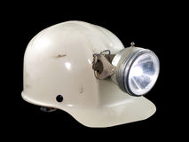 Vintage Caving Helmet Royalty Free Stock Photo