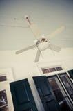 Vintage ceiling fan Stock Image