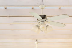 Vintage ceiling Fan Royalty Free Stock Photography
