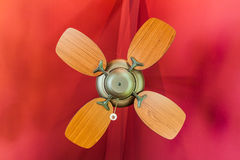 Vintage ceiling fan Royalty Free Stock Images
