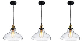 Vintage  ceiling lighting Stock Image