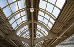 Vintage ceiling at 30th Street Station in Philadelphia royalty free stock images