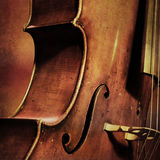 Vintage cello background Royalty Free Stock Image