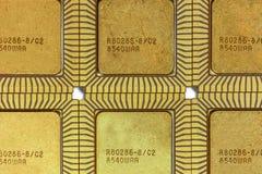 Vintage ceramic CPU Royalty Free Stock Image