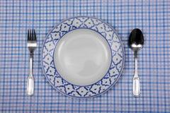 Vintage ceramic dish Royalty Free Stock Image