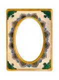 Vintage ceramic frame Stock Image