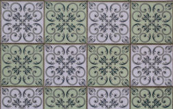 Vintage ceramic tile royalty free stock photo