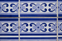 Vintage ceramic tile. Europe,Portugal Royalty Free Stock Image