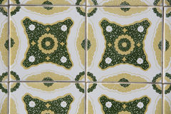 Vintage ceramic tile Stock Photo