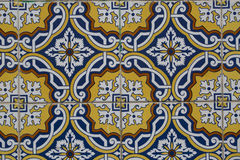 Vintage ceramic tile royalty free stock image