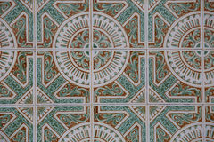 Vintage ceramic tile Royalty Free Stock Images