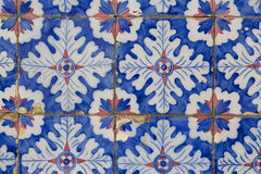Vintage ceramic tile stock photography