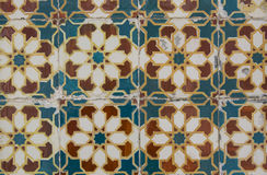 Vintage ceramic tile royalty free stock photography
