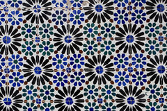 Vintage ceramic tile Royalty Free Stock Photos
