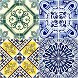 Vintage ceramic tiles Royalty Free Stock Photos